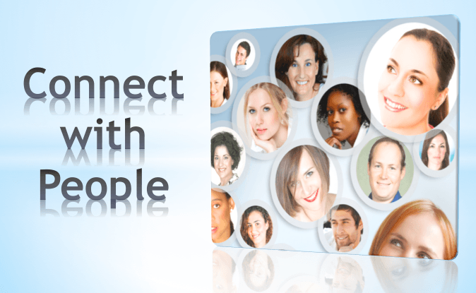 connect with other people