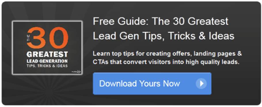 Call-To-Action Examples - Lead Generation Tips