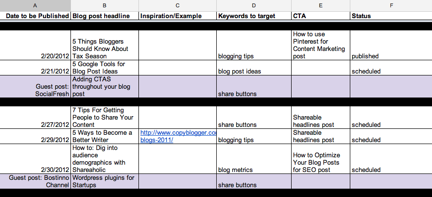 Top LifeChanging Editorial Calendar Tools Writtent - Nonprofit communications calendar template