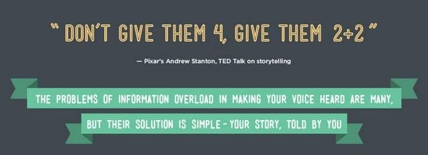 Tips for better storytelling