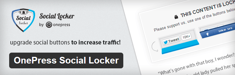 Social Locker to maximize blog traffic