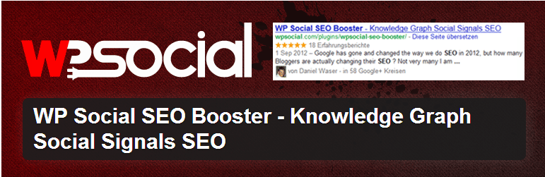 WP Social SEO Booster to maximize blog traffic