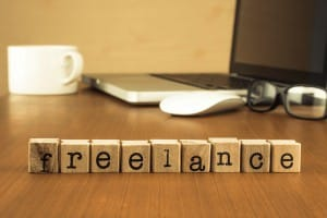 freelance sign